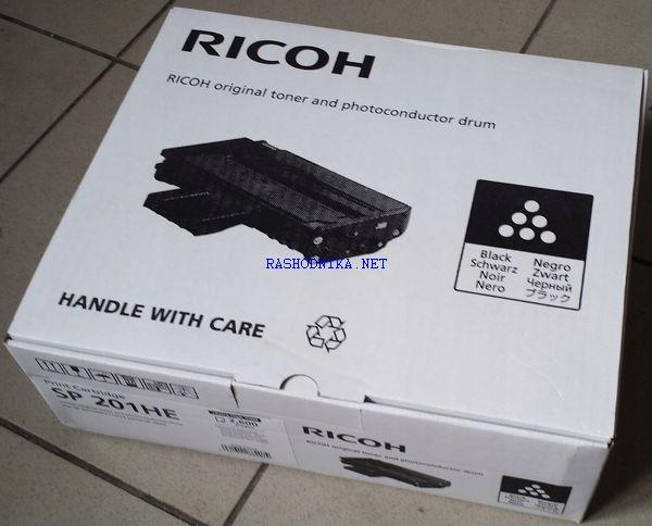 407254 RICOH SP-201HE Принт-картридж черный (2600 стр )